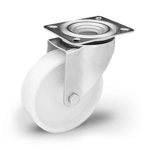 Zestaw kołowy nierdzewny skrętny KPX