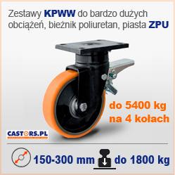 Zestawy kołowe do bardzo duzych obciążeń KPWW ZPU Heavy Duty