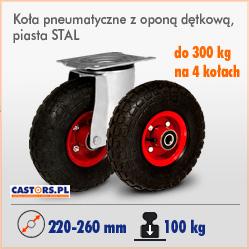 Koła i zestawy kołowe pneumatyczne z oponą dętkową